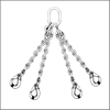 Chain Slings 4 Legs - Chain manufacturers