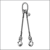 Two Legs Steel Wire Rope Sling - Wire Rope Manufacturers
