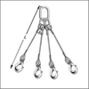 Three and Four Legs Steel Wire Rope Sling - Wire Rope Manufacturers